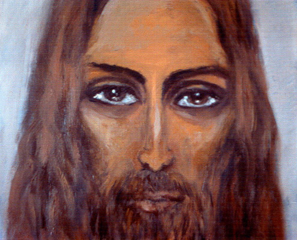Chrystus - obraz olejny na płótnie, ArsKinga - Kinga Pawełska