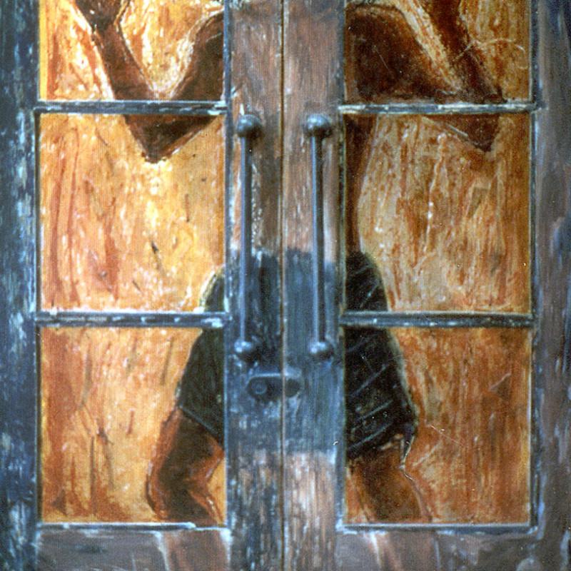 Drzwi - witraż, ArsKinga - Kinga Pawełska
