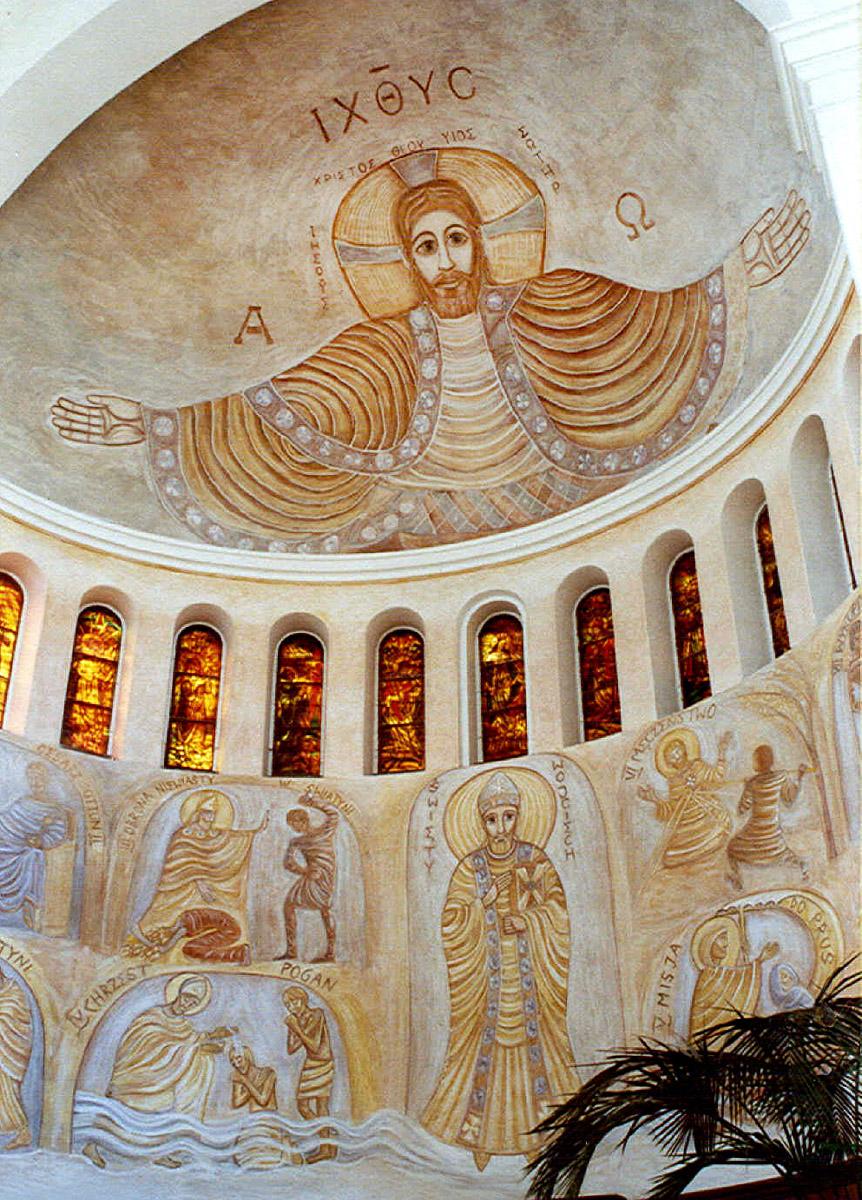Freski w absydzie kościoła św. Wojciecha w Białymstoku, ArsKinga - Kinga Pawełska