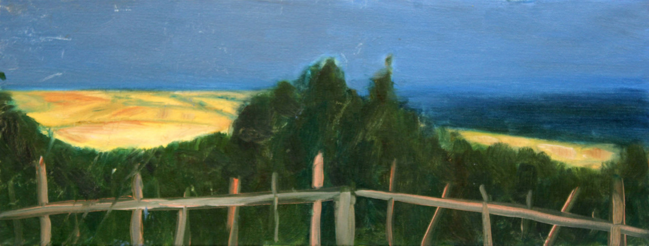 Pejzaż nadmorski - obraz olejny na płótnie, ArsKinga - Kinga Pawełska