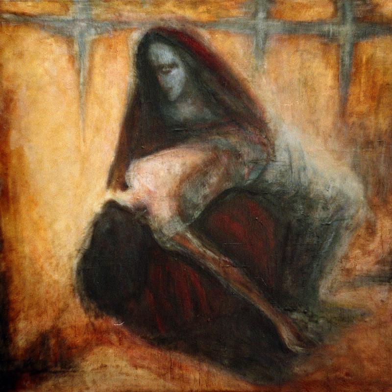 Pieta - obraz olejny na płótnie, ArsKinga - Kinga Pawełska