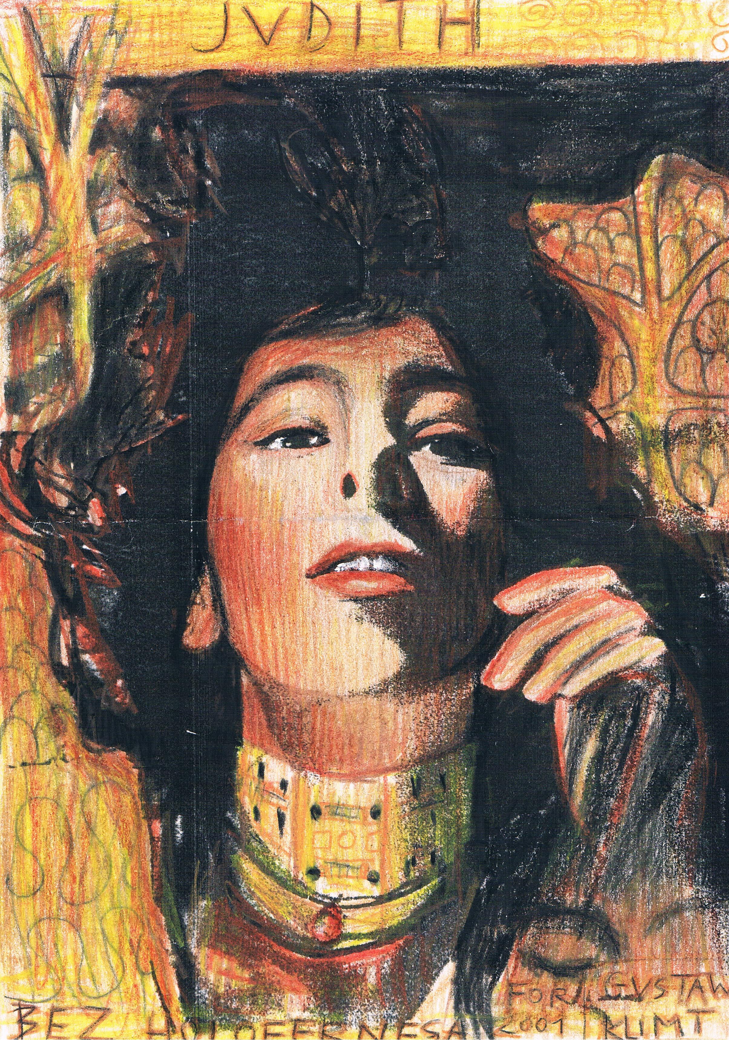 Autoportret jako Judith Klimta